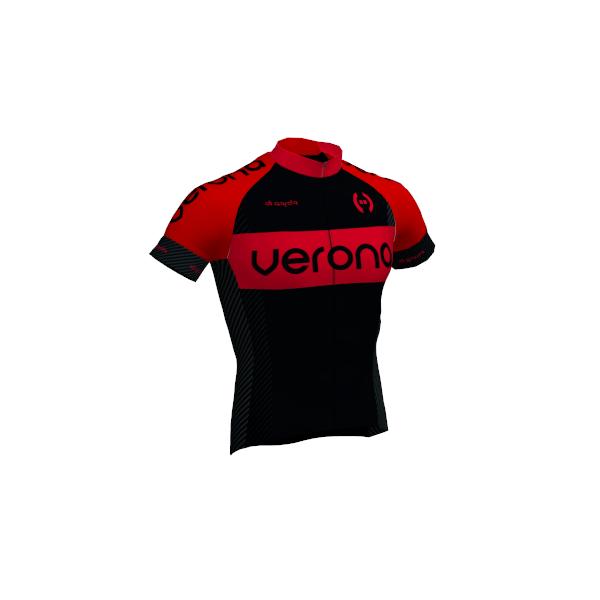 Jersey verona preto e vermelho digarda cycling loja online for Uniform verona